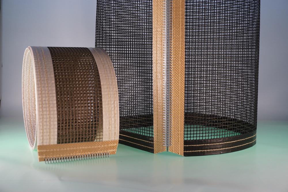 L57 Series Ptfe Coated Fiberglass Mesh Belts W F Lake Corp